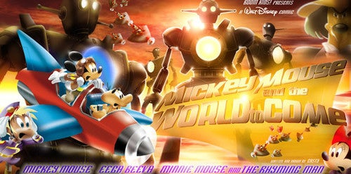 Mickey Mouse Vs. Science Fiction: Round 1