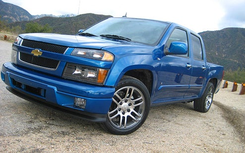 2009 Chevy Colorado V8: Driven