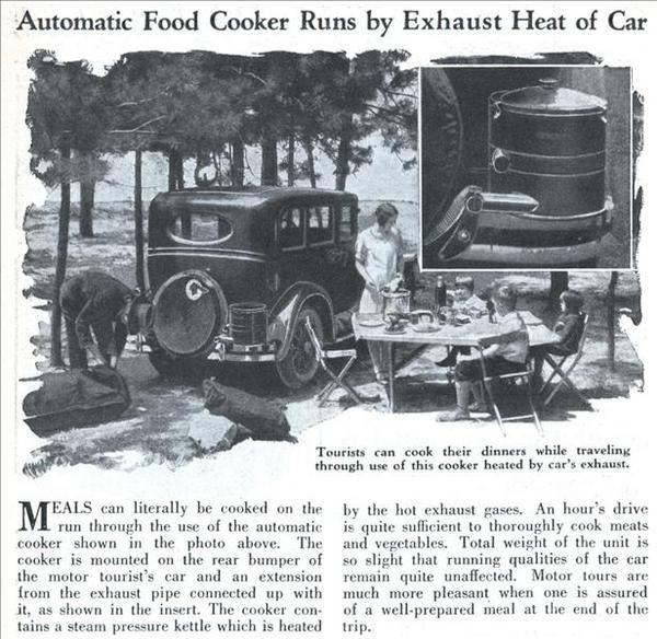 Exhaust Food Cooking Is Not A New Idea