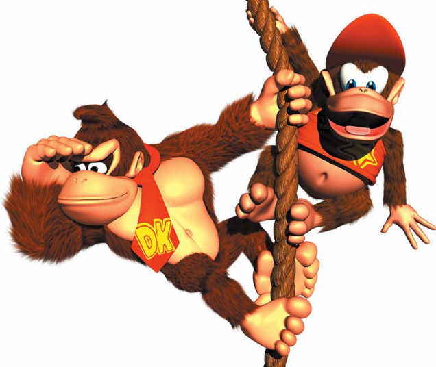 I'll never look at Diddy Kong the same way again