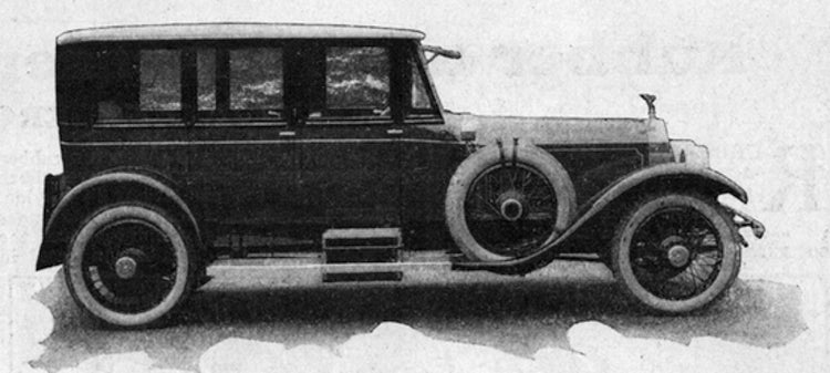 1923 Envisions the Two-Wheeled Flying Car of 1973