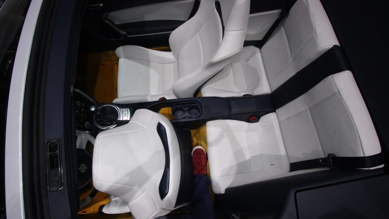 You Won't Fit In The Back Seat Of The Scion FR-S Cabrio