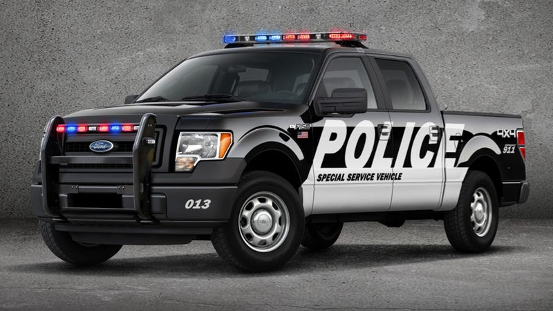 The Ford F-150 SSV Can Handle Bad Guys And Fires