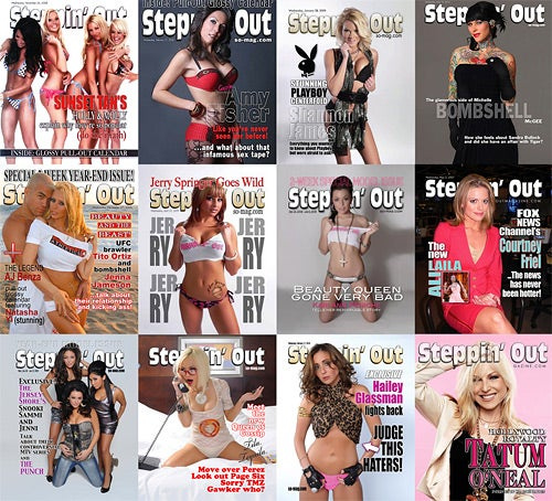 Meet Steppin' Out, America's Trashiest Magazine