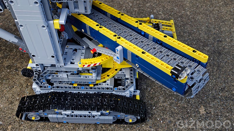 Building Lego's Gigantic Motorized Excavator Is Easily My Greatest Accomplishment