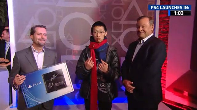 Meet The First Guy To Buy A PlayStation 4