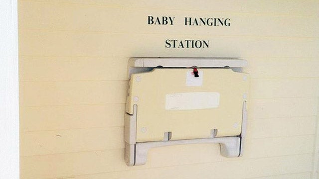 Here's the One Place You Should Probably Never Put Your Baby