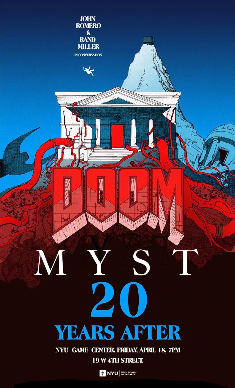 Doom/Myst 20 Years After Poster