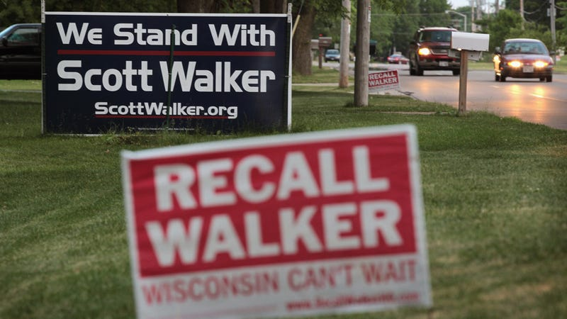 Terrible Wisconsin Governor Scott Walker Wins His Recall Election