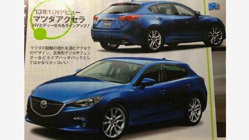 The 2014 Mazda3: This Might Be It