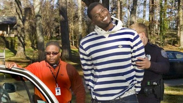 Rolando McClain Is Accused Of Putting A Gun To A Man's Head, Pointing It In Another Direction, And Firing