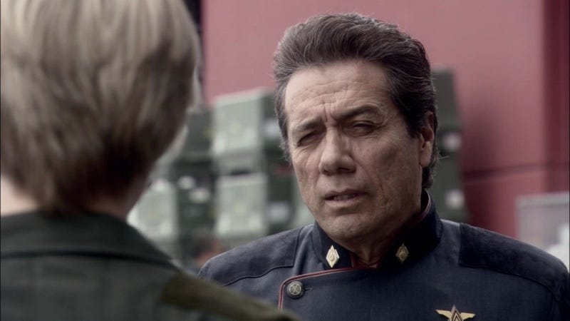 Listen to Edward James Olmos awesomely perform the original Battlestar Galactica's closing narration