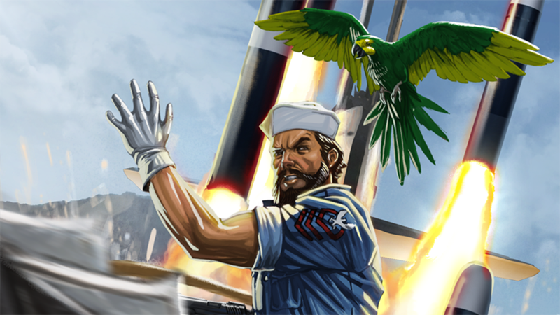 Who's Your Favorite G.I. Joe Character? Say Shipwreck.