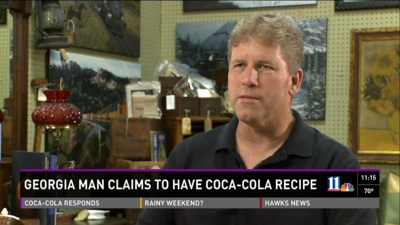 Treasure Hunter Finds Recipe for Coca-Cola in Random Box of Letters