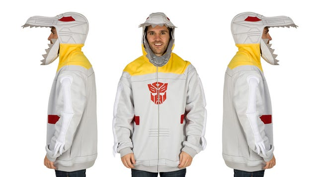 This Fantastic Grimlock Hoodie Makes the 80s Totally Worth It