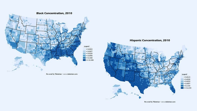 How Race and Ethnicity is Distributed Across the U.S.