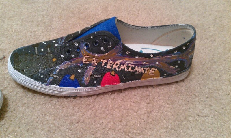 Hey look at these shoes I painted!