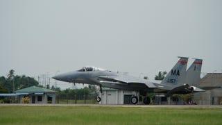 Pilot Killed In Virginia F-15C Crash