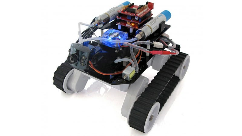 Water-Powered RC Rover: Batteries Not Included (Or Required)