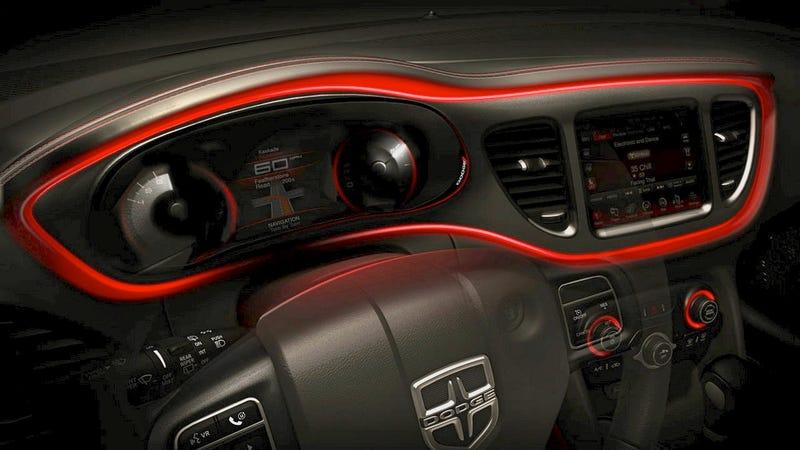 2013 Dodge Dart: Interior Photos