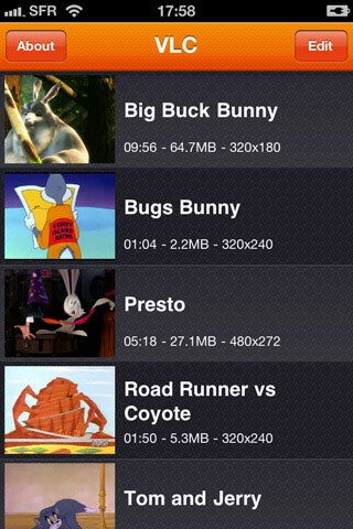 VLC Media Player Now Available for iPhone and iPod touch