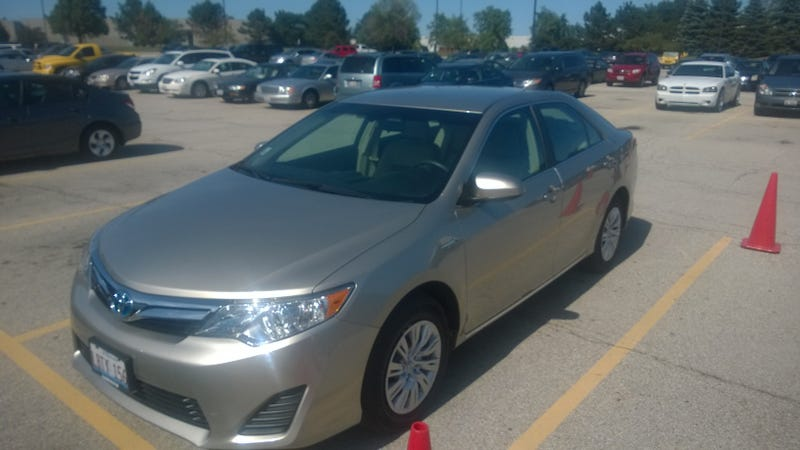 2014 Toyota Camry Hybrid:The Oppo Review