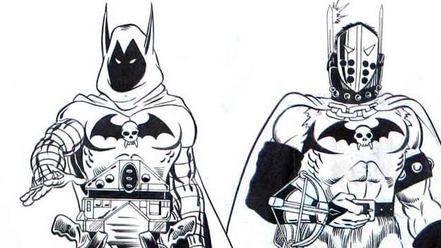 Never-made 1980s action figures turned Robin into Mad Max (and Batman into Lord Humungus)