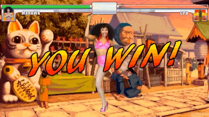 Clearly, This Woman Should Be A Character In Street Fighter
