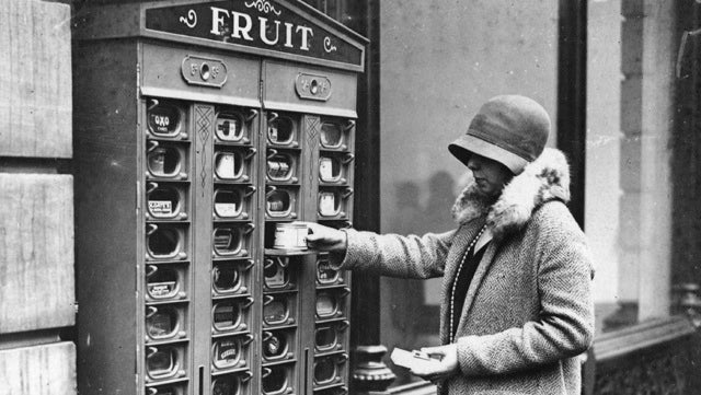 Back in the Day, Everything Was Sold in Vending Machines