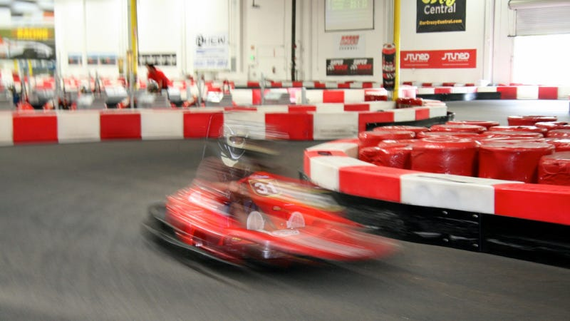 How Dare Audi Not Let Journalists Win Their Go Kart Race