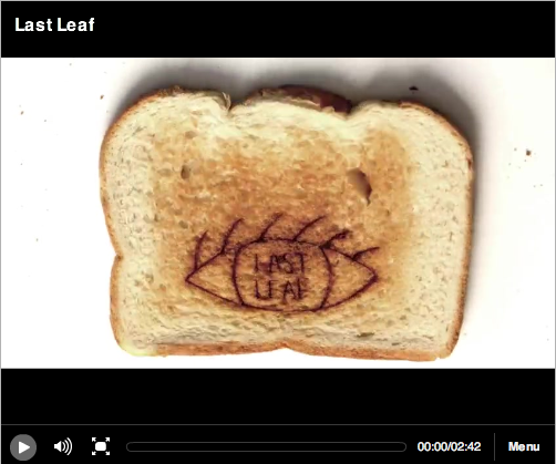 OK Go's Amazing New Video Is 2,430 Pieces of Toast Long