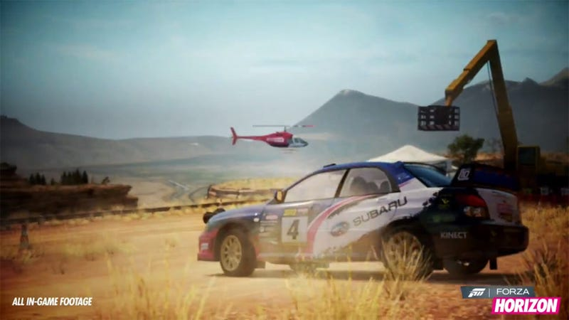 There Are Rally Cars In Forza Horizon Now. Sweet.
