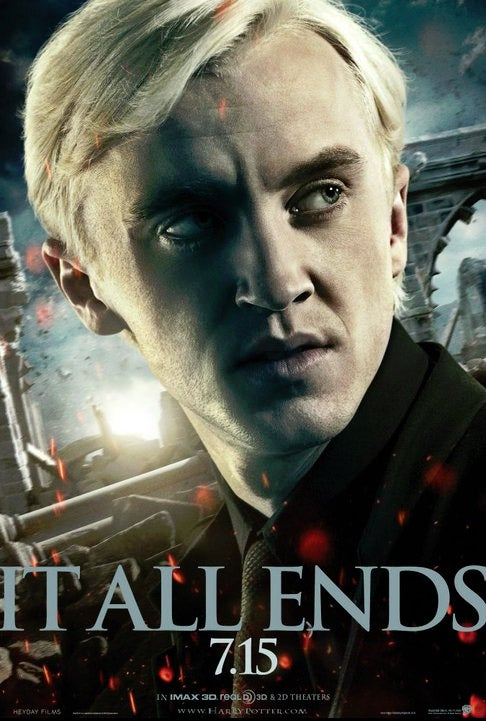 Harry Potter and the Deathly Hallows Part II Draco Malfoy Poster