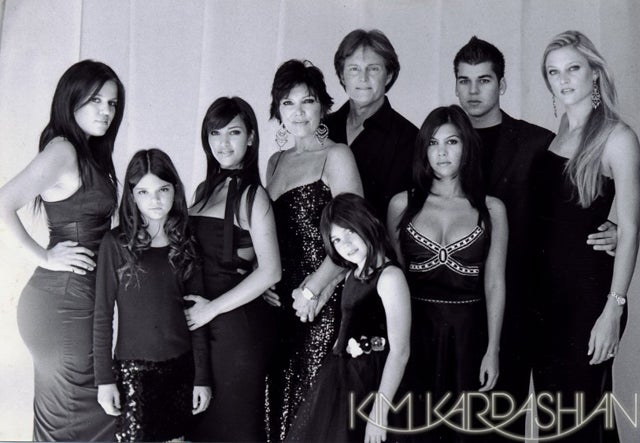 Vintage Kardashian Holiday Cards: Old Noses, Awkward Poses