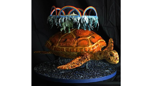 How Bad Would It Be to Eat This Whole Discworld Cake?