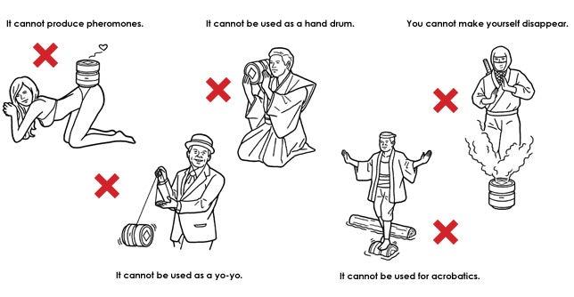 Amadana's Warning Illustrations Are Something Special