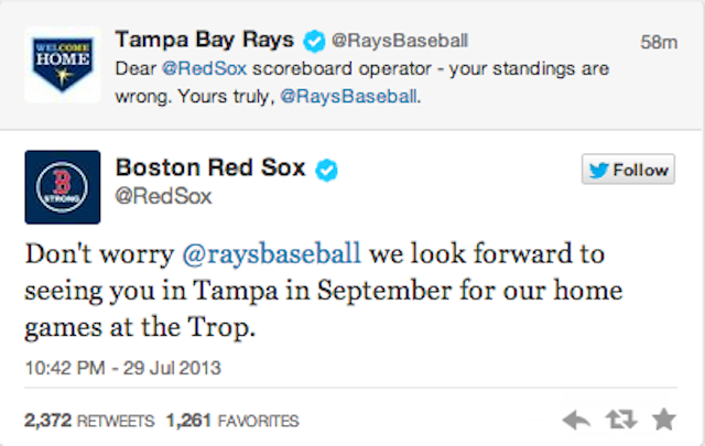 Things Are Getting Salty Between The Rays And Red Sox