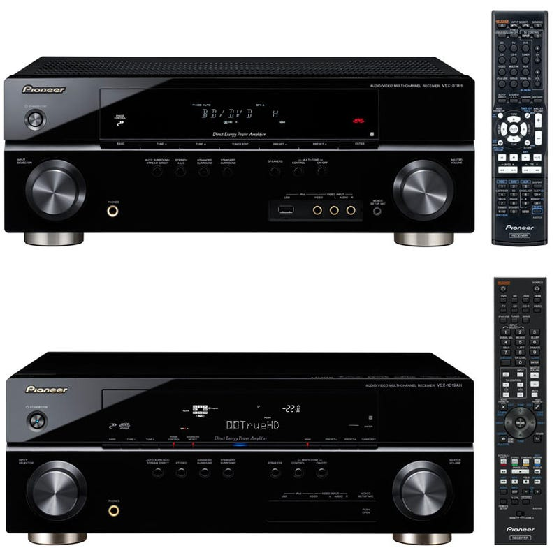 Pioneer's Low-Priced A/V Receivers Have Full Digital iPod/iPhone Connectivity
