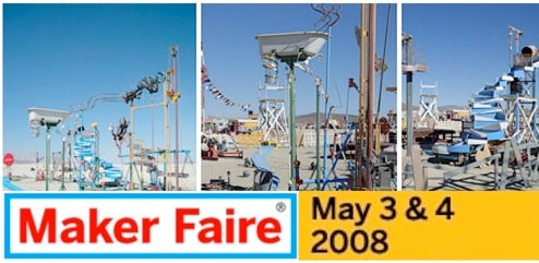 2008 Maker Faire Announced