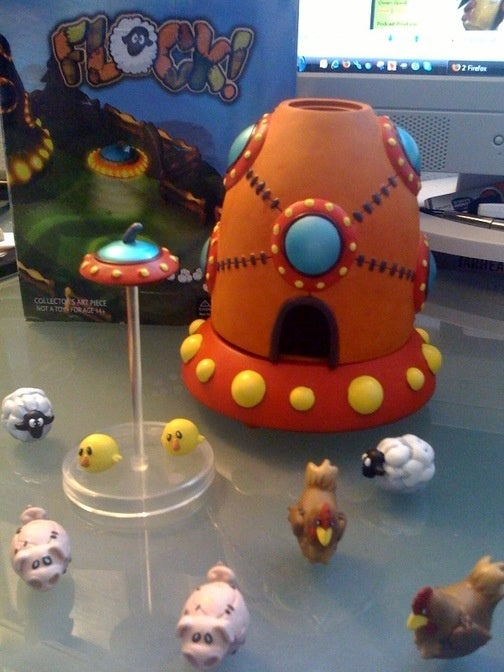 Flock Playset Is Painfully Endearing