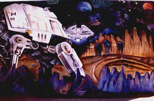 32 Examples of Awesome Star Wars Graffiti
