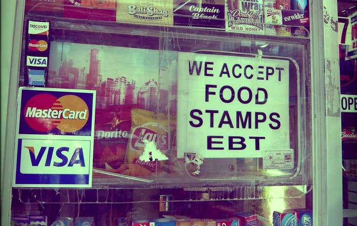 Record Number of Americans Now Using Food Stamps