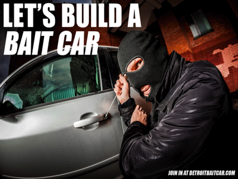 Can A 'Bait Car' Stop Car Thieves?