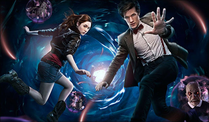Dance In The Time Vortex With Doctor Who!