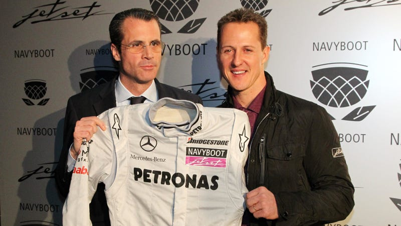 A Brief Photographic History Of Michael Schumacher's Racing Career