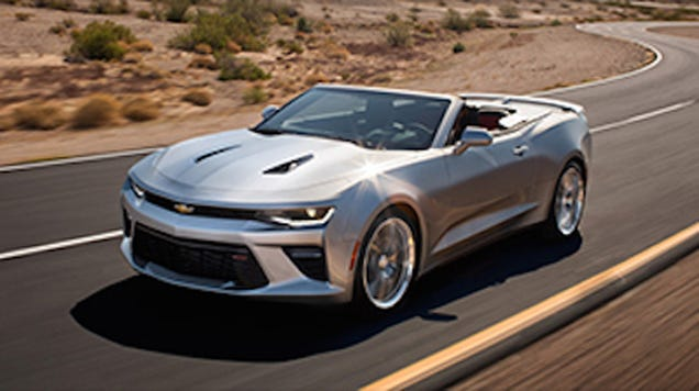 2016 Chevrolet Camaro Convertible: This Is It