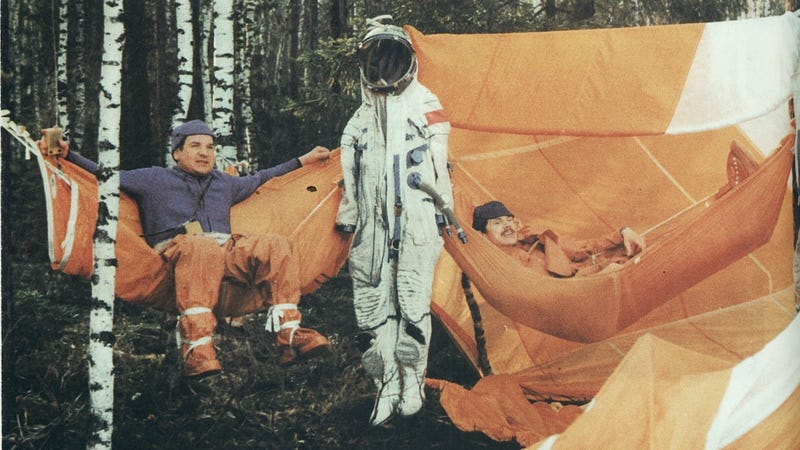 These Cosmonauts Are Having A Killer Time