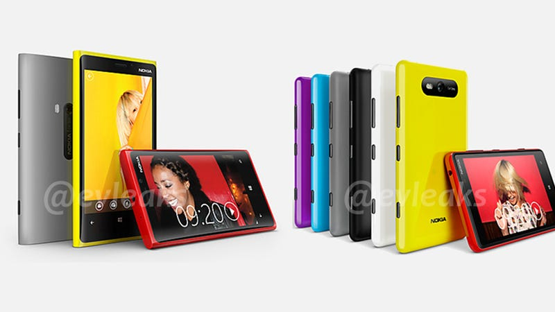Are These Nokia's New Lumia Windows Phones? (Updated)