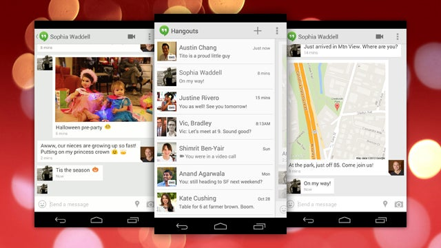 Google Hangouts Is Adding SMS Support, Location Sharing, and GIFs