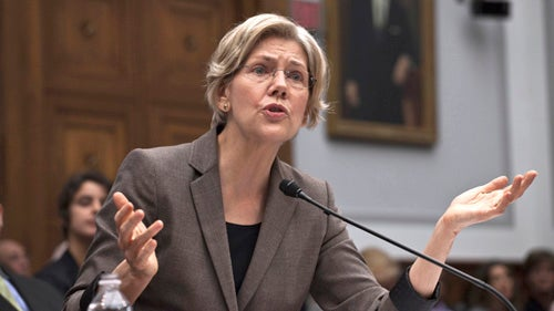 Elizabeth Warren Is Running for Senate
